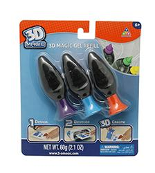 3D Magic Gel Refill Set