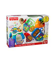 Fisher-Price® Laugh & Learn™ Fun With Friends™ Musical Table