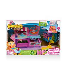 Supermarket Playset - Hamsters in a House