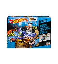Color Shifters Sharkport Showdown Playset - Hot Wheels