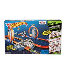 Track Builder Double Boost Bi-Way Set - Hot Wheels