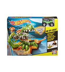 Monster Jam Dragon Blast Challenge Set - Hot Wheels