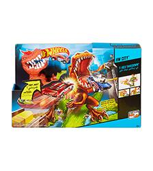 T-Rex Takedown Playset - Hot Wheels