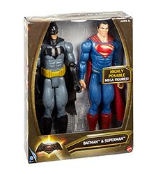 "Batman V Superman 12"" Tall Action Figure 2-Pack"