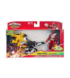 Dino Cycle with Figure - Power Rangers