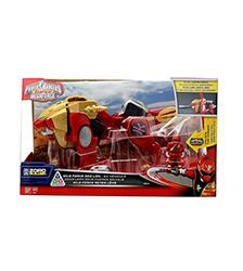 Zord Builder - Wild Force Red Lion - Power Rangers