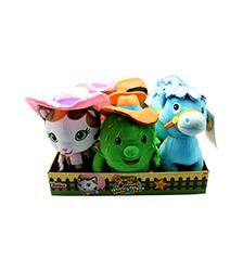 Bean Plush Toys - Assortment - Sheriff Callie