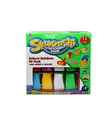 Deluxe Rainbow 10 pack with Mixer & Roller - Skwooshi