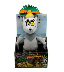 "12"" King Julian Plush Toy - Softeez"