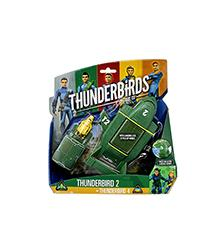 Thunderbird 2 with mini TB4 - Thunderbirds are Go!