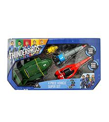 Thunderbirds Vehicle Super Set - Thunderbirds are Go!
