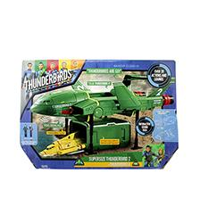 Supersize Thunderbird 2 with Thunderbird 4 - Thunderbirds are Go!