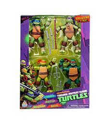 Action Figures Exclusive 4-pack - Teenage Mutant Ninja Turtles