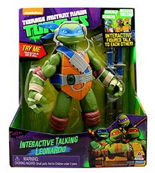 "11"" Talking Turtles - Teenage Mutant Ninja Turtles"