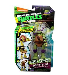 Pet to Ninja Figures - Teenage Mutant Ninja Turtles