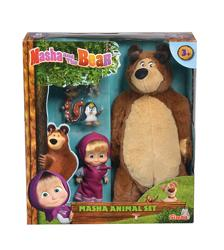 Masha and The Bear - Masha and The Bear Animal Set