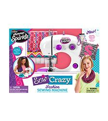 Shimmer n Sparkle - Shimmer 'n Sparkle Sew Crazy Fashion Sewing Machine