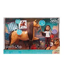 Spirit Riding Free - Spirit Riding Free - Spirit & Lucky Deluxe Feeding Set