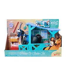 Spirit Riding Free - Spirit Riding Free - Horse & Stable Accessory Set