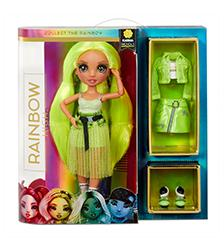 Rainbow High - Rainbow High Bella Karma Nichols Neon Fashion Doll - Series 2