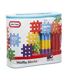 Little Tikes - Little Tikes Waffle Blocks 100pc. Bag