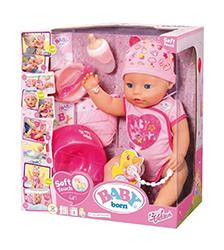 Baby Born - Baby Born Soft Touch Girl