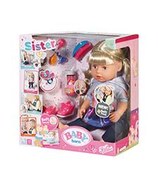 Baby Born - Baby Born Soft Touch Sister Doll