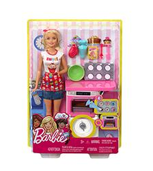 Barbie, -Careers - Barbie Bakery Chef Doll & Playset