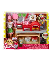 Barbie, -Careers - Barbie Pizza Chef Doll & Playset