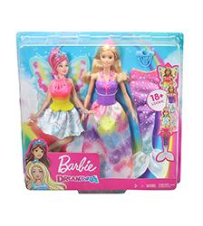 Barbie, -Fairytale - Barbie Dreamtopia Dress Up Doll Gift Set