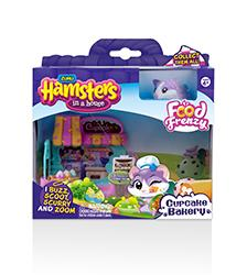 Hamsters in a House - Food Frenzy Cupcake Bakery