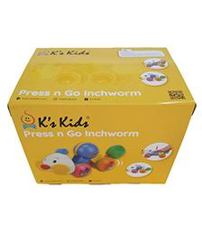 K's Kids - K's Kids Press n Go Inchworm