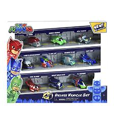 PJ Masks - PJ Masks Nigh Time Micros Deluxe Vehicle Set