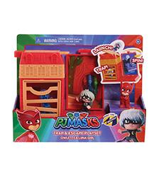 PJ Masks - PJ Masks Nigh Time Micros Trap & Escape Playset