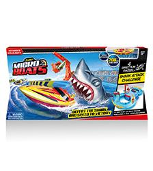 Shark Attack Challenge Playset