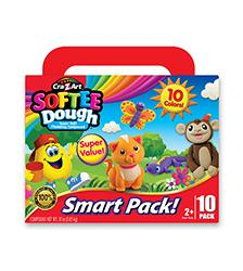 Softee Dough - Softee Dough Smart Pack 10 Colors