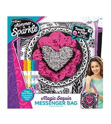 Shimmer n Sparkle - Shimmer n Sparkle Magic Sequin Messenger Bag