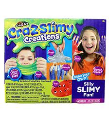 Cra-Z-Slimy Creations - Cra-Z-Slimy Creations Deluxe Slime Kit