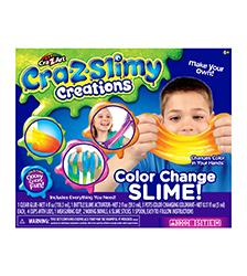 Cra-Z-Slimy Creations - Cra-Z-Slimy Creations Color Change Slime Kit