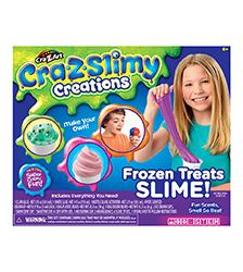 Cra-Z-Slimy Creations - Cra-Z-Slimy Creations Frozen Treats Slime Kit