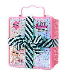L.O.L Surprise! - L.O.L Surprise Deluxe Present Surprise with Limited Edition Miss Par-tay Doll and Pet