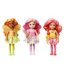 Barbie, -Fairytale - Dreamtopia Chelsea Small Fairy Dolls