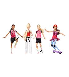 Barbie, -Careers - Active Sports Dolls