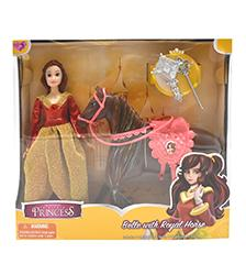 Fairytale Princess - Princess Doll with Horse