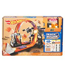 Hot Wheels - Construction Crash Kit