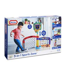 Little Tikes - Little Tikes Light n' Go 3-in-1 Sports Zone