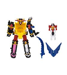 Power Rangers, -Ninja Steel - DX Megazord