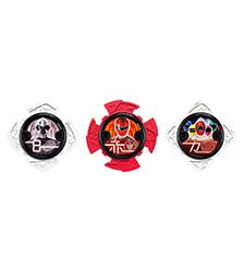 Power Rangers, -Ninja Steel - Ninja Power Stars Packs