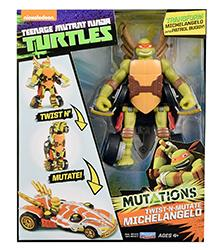 Teenage Mutant Ninja Turtles, -Mutations - Twist-N-Mutate Figures