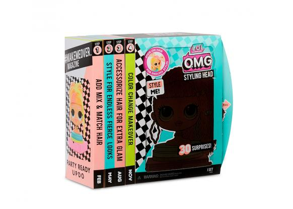 L.O.L Surprise! - L.O.L Surprise! Under Wraps! O.M.G Styling Heads